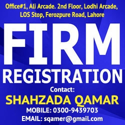 FIRM REGISTRATION PROCESS