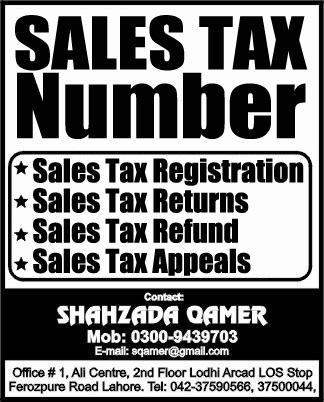 Sales Tax www.sqamer.com