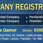 Company Registration fee in Pakistan