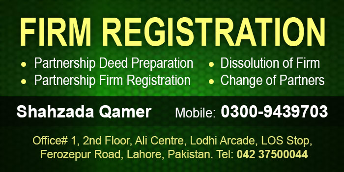 Firm Registration