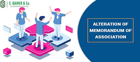 Changes Memorandum Association Company